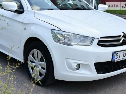 Белый Ситроен С-Элизе, объемом двигателя 1.2 л и пробегом 110 тыс. км за 8500 $, фото 1 на Automoto.ua