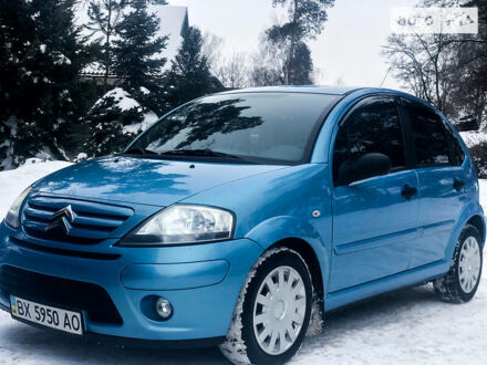 Синий Ситроен С3, объемом двигателя 1.4 л и пробегом 19 тыс. км за 7450 $, фото 1 на Automoto.ua