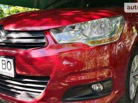 Красный Ситроен С4, объемом двигателя 1.6 л и пробегом 82 тыс. км за 11100 $, фото 1 на Automoto.ua
