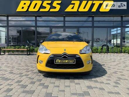 Желтый Ситроен ДС3, объемом двигателя 1.4 л и пробегом 127 тыс. км за 7200 $, фото 1 на Automoto.ua