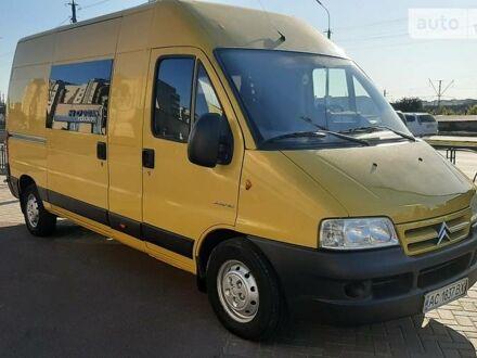 Желтый Ситроен Джампер пасс., объемом двигателя 2.2 л и пробегом 416 тыс. км за 8700 $, фото 1 на Automoto.ua