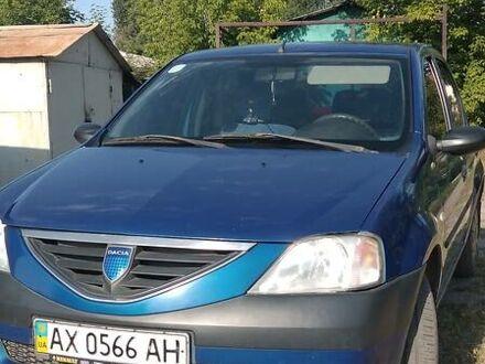 Синий Дачия Логан, объемом двигателя 1.4 л и пробегом 131 тыс. км за 5300 $, фото 1 на Automoto.ua