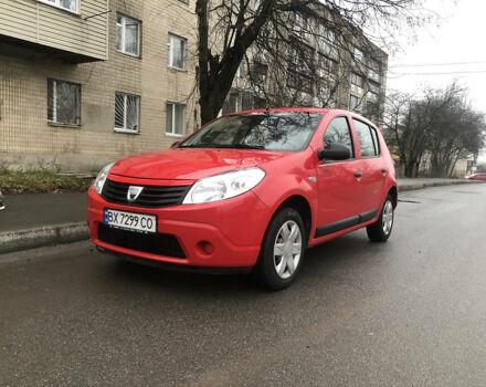 Красный Дачия Сандеро, объемом двигателя 1.4 л и пробегом 189 тыс. км за 4700 $, фото 1 на Automoto.ua