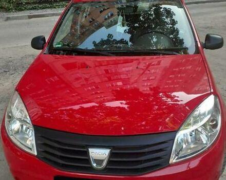 Красный Дачия Сандеро, объемом двигателя 1.2 л и пробегом 200 тыс. км за 4400 $, фото 1 на Automoto.ua
