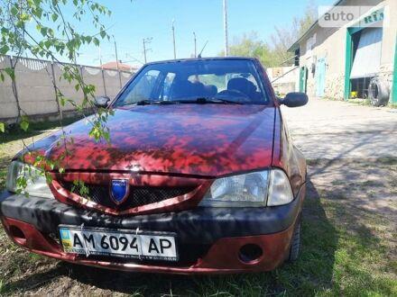 Красный Дачия Соленза, объемом двигателя 1.4 л и пробегом 177 тыс. км за 2350 $, фото 1 на Automoto.ua