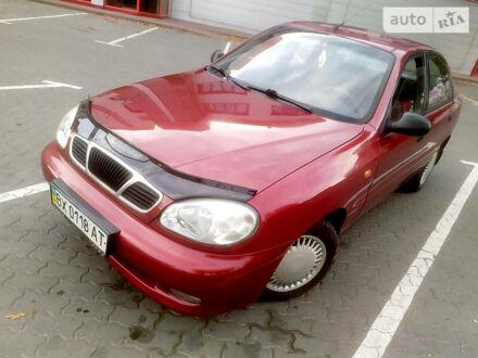 Красный Дэу Ланос, объемом двигателя 1.5 л и пробегом 185 тыс. км за 2680 $, фото 1 на Automoto.ua