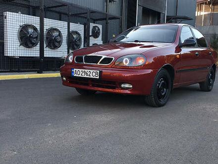 Красный Дэу Ланос, объемом двигателя 1.3 л и пробегом 187 тыс. км за 3300 $, фото 1 на Automoto.ua