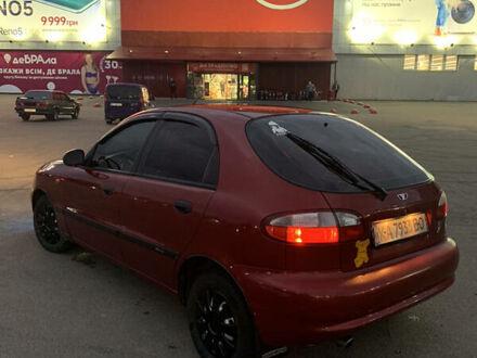 Красный Дэу Ланос, объемом двигателя 1.5 л и пробегом 101 тыс. км за 3500 $, фото 1 на Automoto.ua