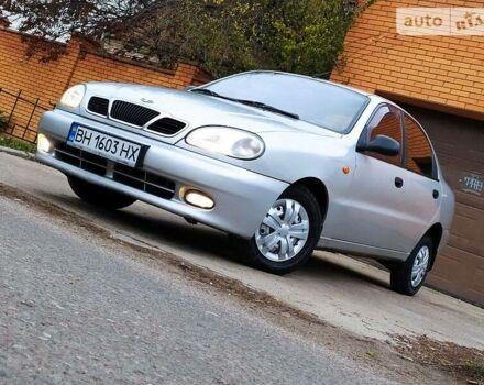 Серый Дэу Ланос, объемом двигателя 1.5 л и пробегом 140 тыс. км за 3750 $, фото 1 на Automoto.ua