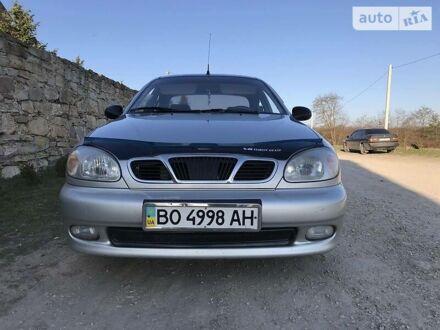 Серый Дэу Ланос, объемом двигателя 1.5 л и пробегом 190 тыс. км за 3000 $, фото 1 на Automoto.ua