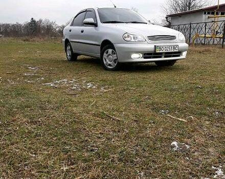 Серый Дэу Ланос, объемом двигателя 1.5 л и пробегом 128 тыс. км за 5700 $, фото 1 на Automoto.ua