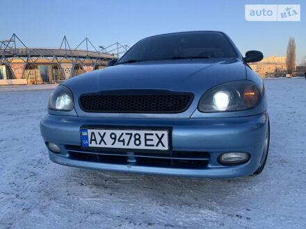 Синій Деу Ланос, об'ємом двигуна 1.6 л та пробігом 99 тис. км за 4500 $, фото 1 на Automoto.ua
