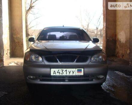 Серебряный Дэу Ланос, объемом двигателя 1.5 л и пробегом 160 тыс. км за 3000 $, фото 1 на Automoto.ua