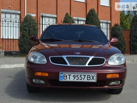 Красный Дэу Леганза, объемом двигателя 2 л и пробегом 163 тыс. км за 3900 $, фото 1 на Automoto.ua