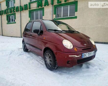 Красный Дэу Матиз, объемом двигателя 0.8 л и пробегом 97 тыс. км за 2850 $, фото 1 на Automoto.ua