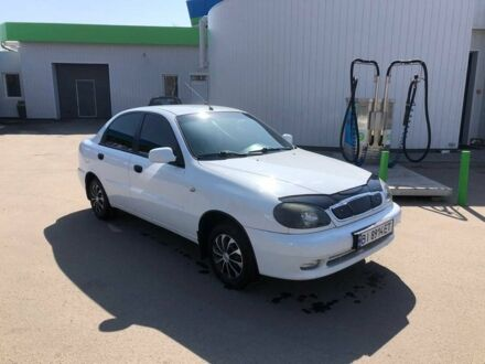 Белый Дэу Сенс, объемом двигателя 1.3 л и пробегом 156 тыс. км за 3400 $, фото 1 на Automoto.ua