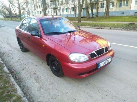 Красный Дэу Сенс, объемом двигателя 1.3 л и пробегом 170 тыс. км за 2499 $, фото 1 на Automoto.ua