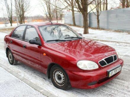 Червоний Деу Сенс, об'ємом двигуна 1.3 л та пробігом 82 тис. км за 3200 $, фото 1 на Automoto.ua