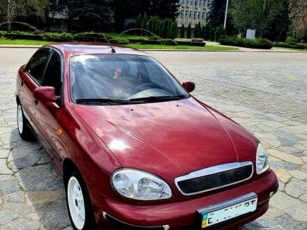 Красный Дэу Сенс, объемом двигателя 1.3 л и пробегом 90 тыс. км за 4500 $, фото 1 на Automoto.ua