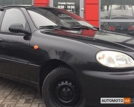 Черный Дэу Сенс, объемом двигателя 1.5 л и пробегом 1 тыс. км за 2869 $, фото 1 на Automoto.ua