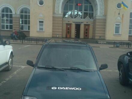 Зеленый Дэу Тико, объемом двигателя 0.8 л и пробегом 238 тыс. км за 1500 $, фото 1 на Automoto.ua