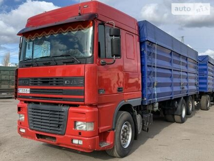 Красный Даф 95, объемом двигателя 12.6 л и пробегом 504 тыс. км за 21700 $, фото 1 на Automoto.ua