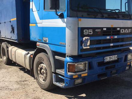 Синій Даф 95, об'ємом двигуна 12 л та пробігом 800 тис. км за 7200 $, фото 1 на Automoto.ua