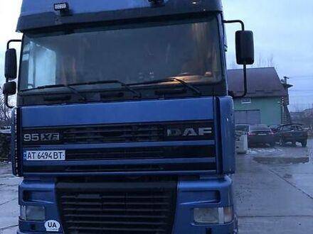 Синий Даф 95, объемом двигателя 13 л и пробегом 10 тыс. км за 22500 $, фото 1 на Automoto.ua
