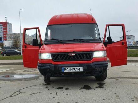 Красный Даф ЛДВ Конвой, объемом двигателя 2.4 л и пробегом 217 тыс. км за 3800 $, фото 1 на Automoto.ua