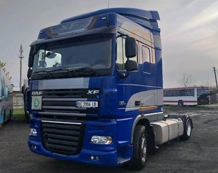 Синий Даф ХФ, объемом двигателя 13 л и пробегом 980 тыс. км за 15900 $, фото 1 на Automoto.ua