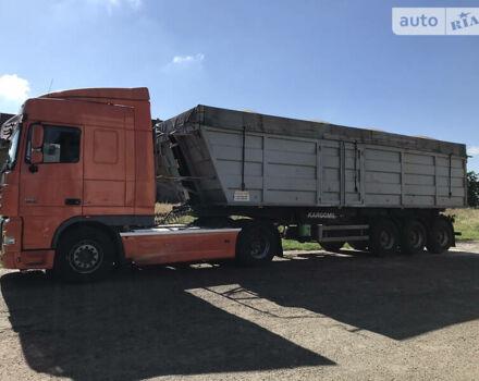 Оранжевый Даф ХФ, объемом двигателя 13 л и пробегом 1 тыс. км за 27300 $, фото 1 на Automoto.ua