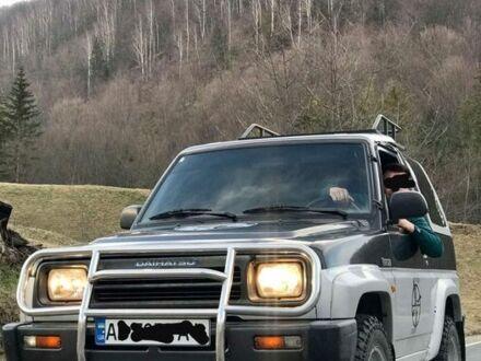 Чорний Дайхатсу Feroza, об'ємом двигуна 1.6 л та пробігом 210 тис. км за 3450 $, фото 1 на Automoto.ua