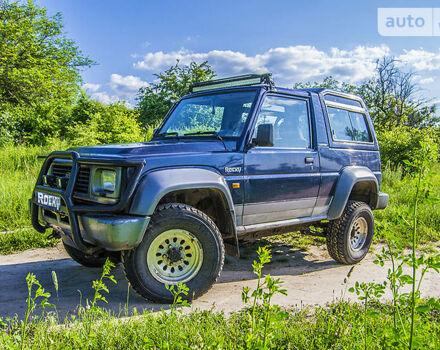 Синій Дайхатсу Rocky, об'ємом двигуна 2.8 л та пробігом 155 тис. км за 12000 $, фото 1 на Automoto.ua