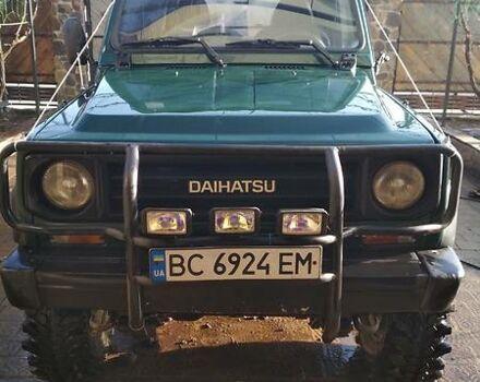 Зелений Дайхатсу Rocky, об'ємом двигуна 2.8 л та пробігом 275 тис. км за 5800 $, фото 1 на Automoto.ua