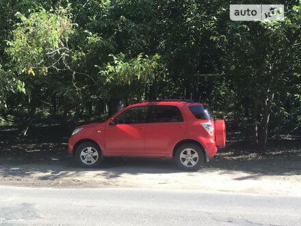 Красный Дайхатсу Териос, объемом двигателя 1.5 л и пробегом 93 тыс. км за 14000 $, фото 1 на Automoto.ua