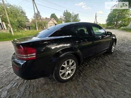 Черный Додж Авенджер, объемом двигателя 2.4 л и пробегом 170 тыс. км за 6200 $, фото 1 на Automoto.ua