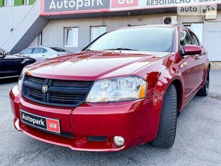 Красный Додж Авенджер, объемом двигателя 2.4 л и пробегом 186 тыс. км за 7700 $, фото 1 на Automoto.ua