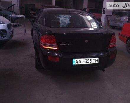 Черный Додж Авенджер, объемом двигателя 2 л и пробегом 200 тыс. км за 3600 $, фото 1 на Automoto.ua