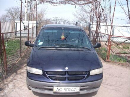 Синій Додж Caravan, об'ємом двигуна 2.5 л та пробігом 370 тис. км за 4300 $, фото 1 на Automoto.ua