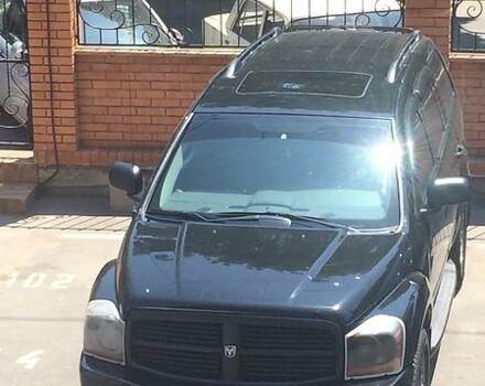 Чорний Додж Durango, об'ємом двигуна 4.7 л та пробігом 158 тис. км за 17000 $, фото 1 на Automoto.ua