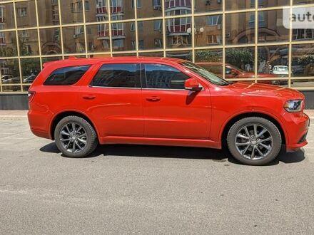 Червоний Додж Durango, об'ємом двигуна 3.6 л та пробігом 99 тис. км за 27000 $, фото 1 на Automoto.ua