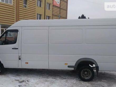 Белый Додж Спринтер, объемом двигателя 2.7 л и пробегом 300 тыс. км за 12500 $, фото 1 на Automoto.ua