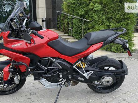 Красный Дукати Multistrada 1200S, объемом двигателя 1.2 л и пробегом 25 тыс. км за 8700 $, фото 1 на Automoto.ua
