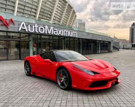 Красный Феррари 458 Италия, объемом двигателя 4.5 л и пробегом 31 тыс. км за 150000 $, фото 1 на Automoto.ua