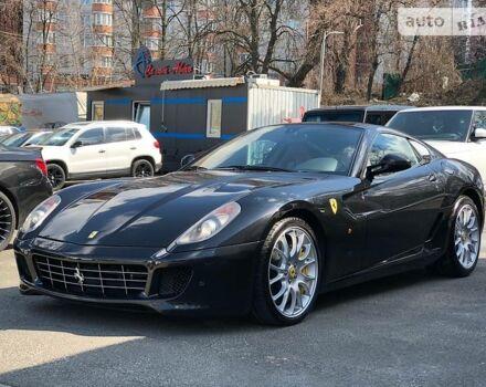 Черный Феррари 599, объемом двигателя 6 л и пробегом 25 тыс. км за 105000 $, фото 1 на Automoto.ua