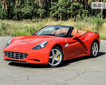 Красный Феррари Калифорния, объемом двигателя 4.3 л и пробегом 2 тыс. км за 149999 $, фото 1 на Automoto.ua