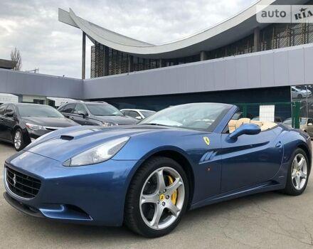 Синій Феррарі California, об'ємом двигуна 4.3 л та пробігом 19 тис. км за 129900 $, фото 1 на Automoto.ua