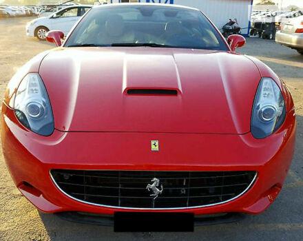 Красный Феррари Калифорния, объемом двигателя 4.3 л и пробегом 35 тыс. км за 115000 $, фото 1 на Automoto.ua