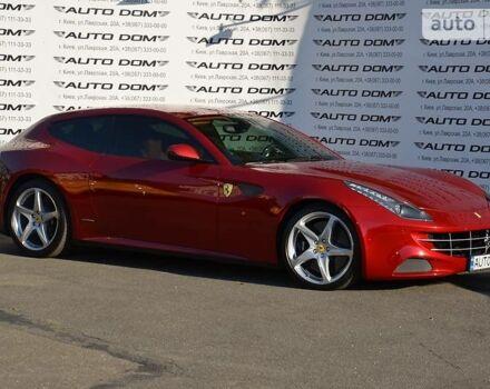 Вишневий Феррарі ФФ, об'ємом двигуна 6.3 л та пробігом 12 тис. км за 174999 $, фото 1 на Automoto.ua