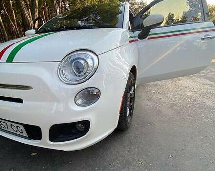 Білий Фіат 500, об'ємом двигуна 1.4 л та пробігом 49 тис. км за 9270 $, фото 1 на Automoto.ua